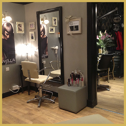 First Interior image of The Boutique Hair Salon